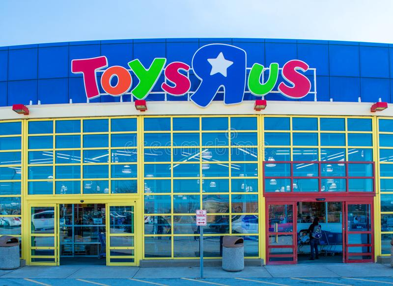 Toys R Us在奥兰多公园,伊利诺伊 免版税图库摄影
