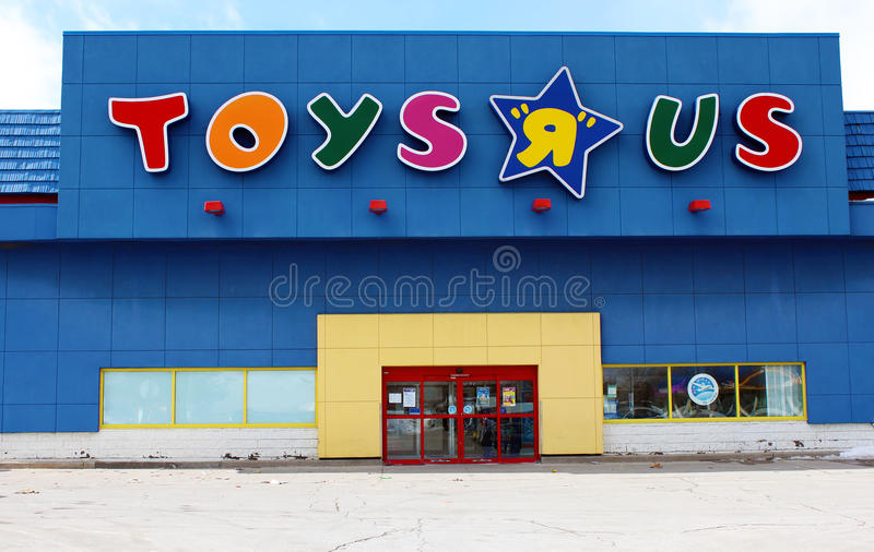 Toys R Us Store : Toys r us store editorial photography image of logo