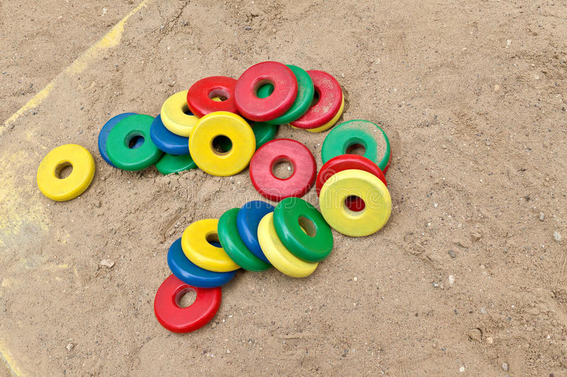 Toys to play with sand royalty free stock image