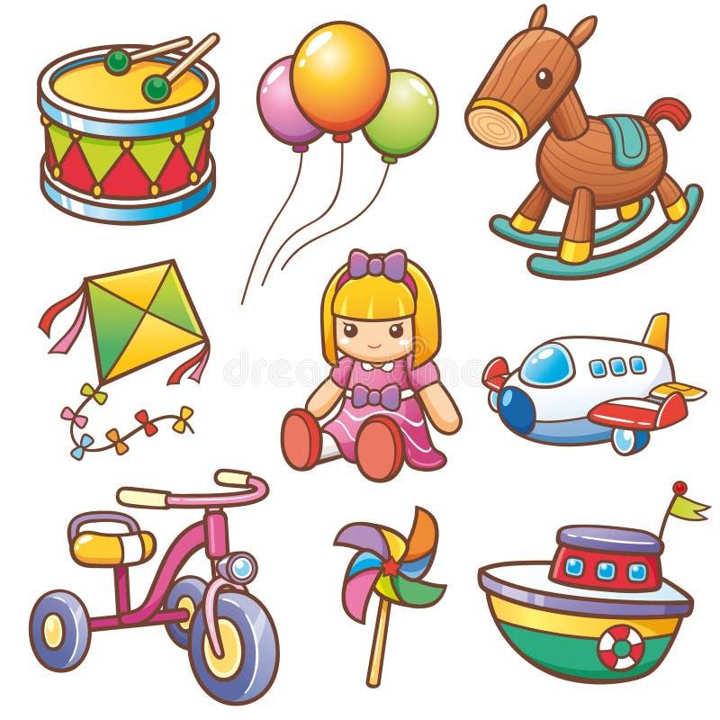Toys royalty free illustration