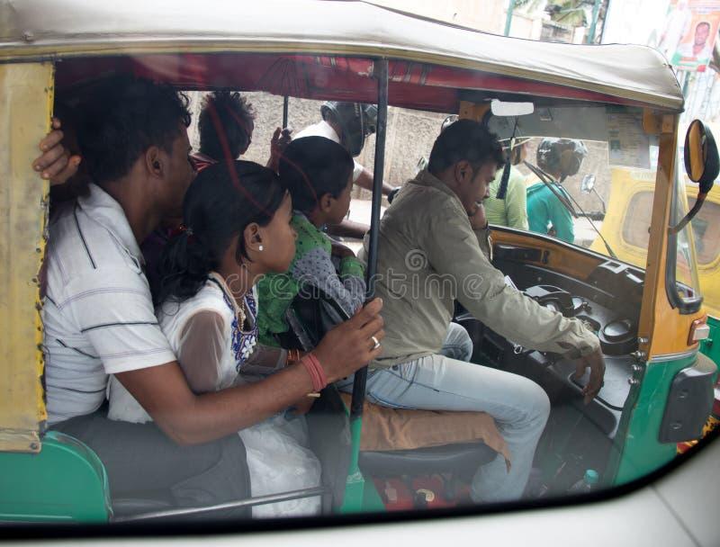 Tráfego de Bangalore imagem de stock
