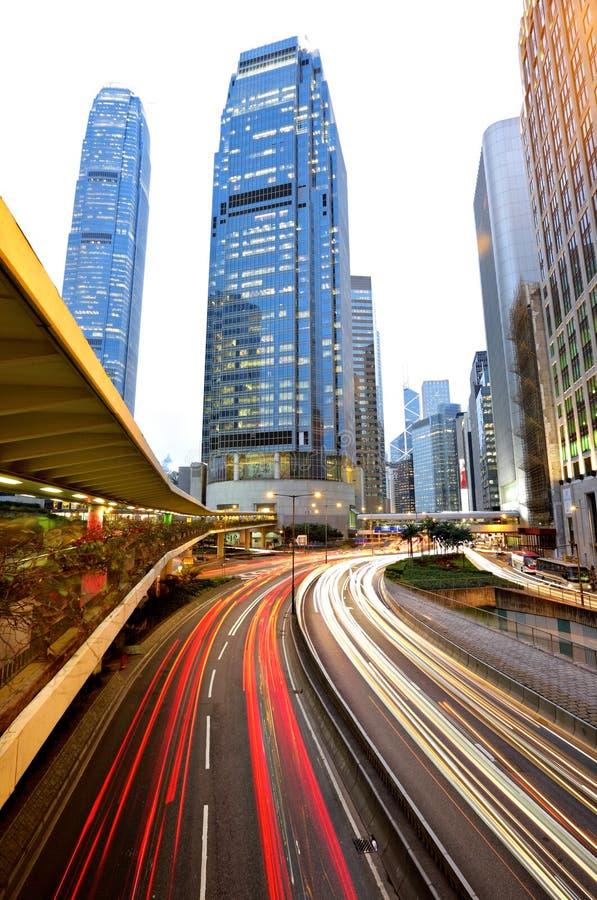 Tráfego de Hong Kong foto de stock royalty free