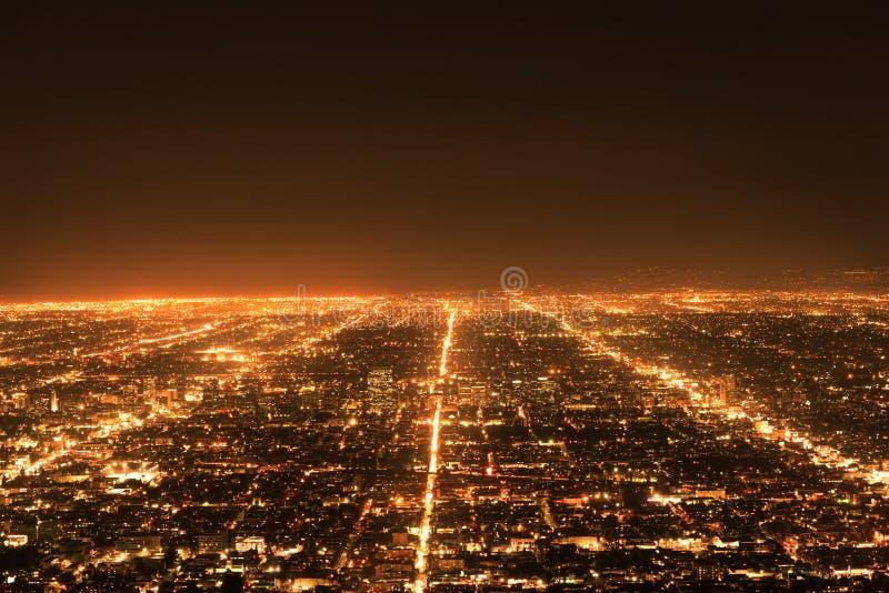 Tráfego de Los Angeles imagens de stock