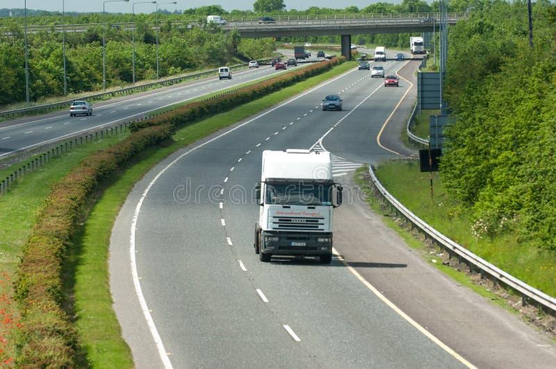 Tráfico de autopista foto de archivo libre de regalías