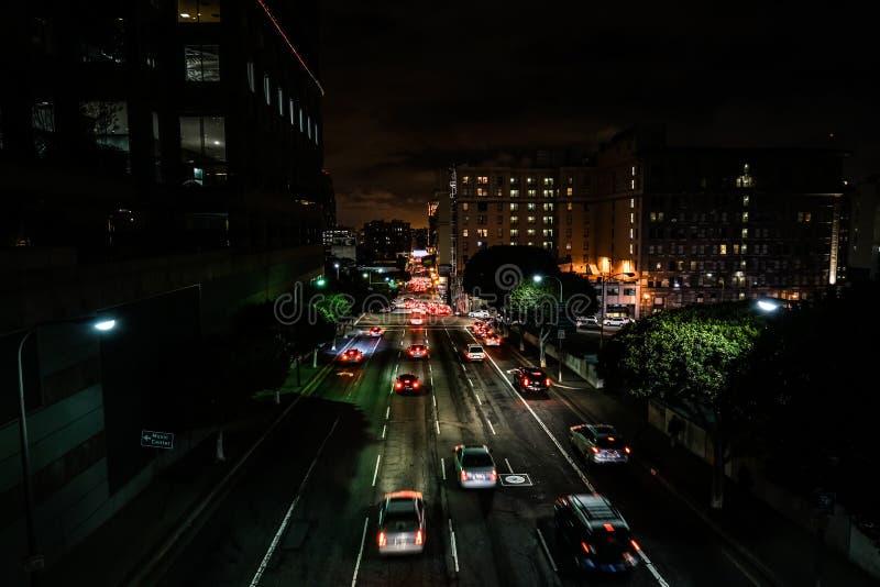 Tráfico de Los Ángeles fotos de archivo