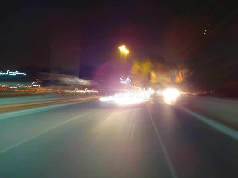 Tráfico de Lucknow foto de archivo