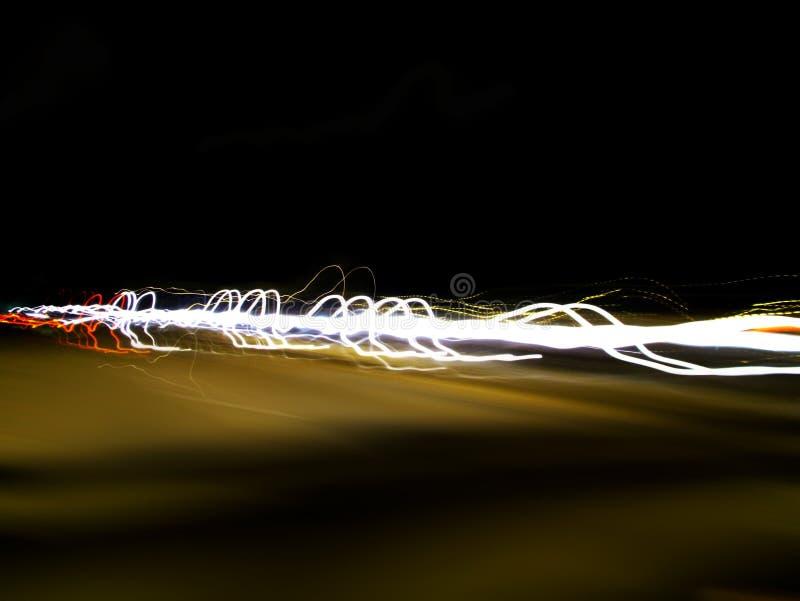 Tráfico de noche imágenes de archivo libres de regalías