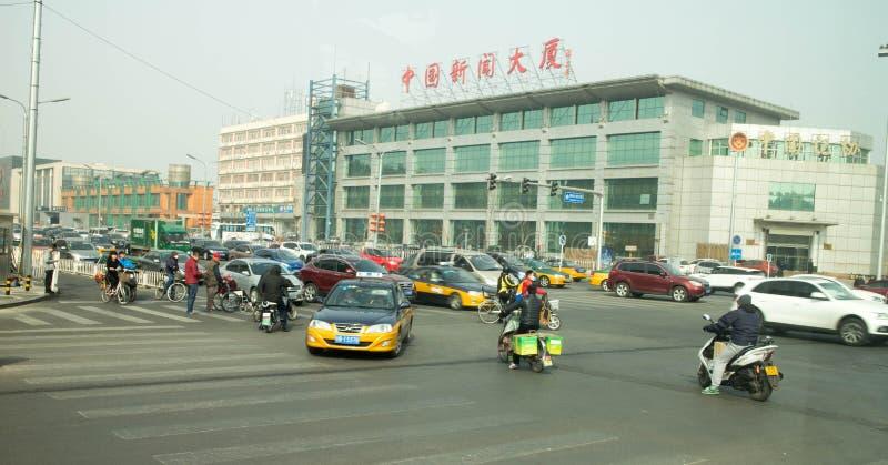 Tráfico del sur de Pekín fotografía de archivo libre de regalías
