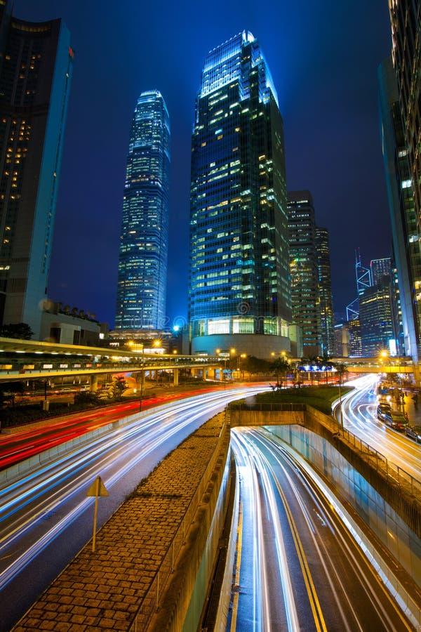 Tráfico Hong Kong imagen de archivo libre de regalías
