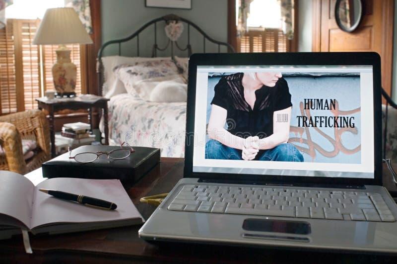 Tráfico humano fotos de stock royalty free