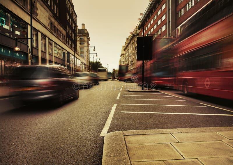 Tráfico urbano imagen de archivo libre de regalías