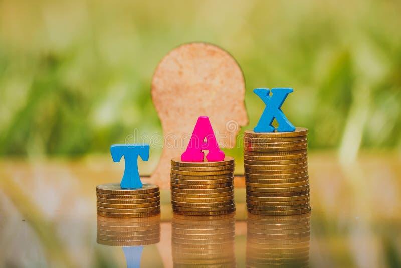 TräTEX med skatterna för inskriften ' arkivfoton
