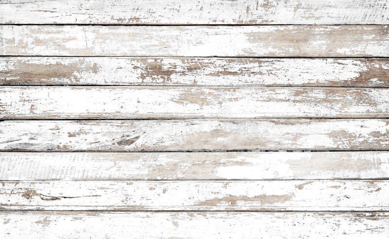 trä för bakgrundstappningwhite arkivbild