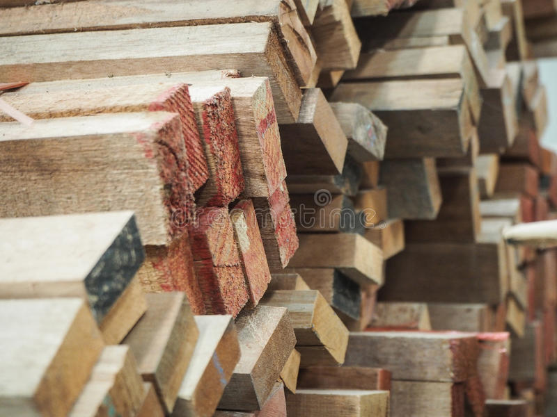 Trä fabrik, konstruktion royaltyfri foto