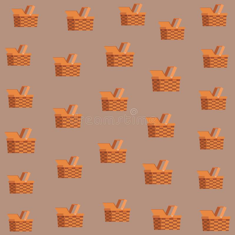 träabstrakt gnäggande för bakgrundskorgtextur royaltyfri illustrationer