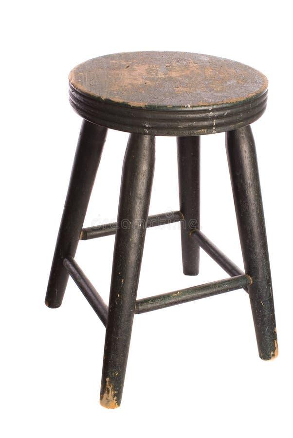 träantik stol fotografering för bildbyråer