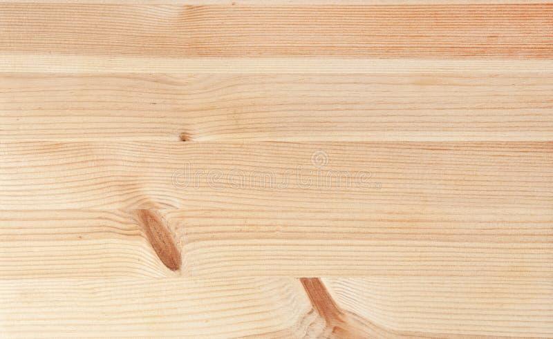 Träbakgrund av rent och nytt trä arkivbilder