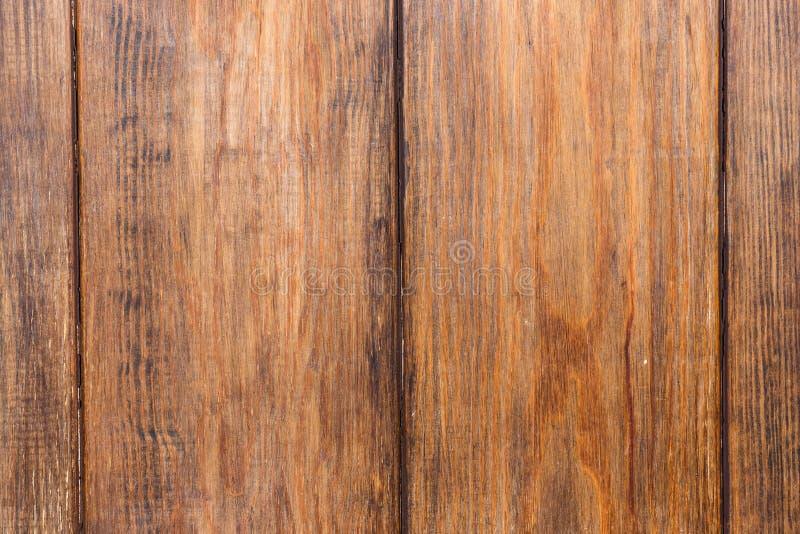 Träbakgrund för gammal brun grunge royaltyfri bild