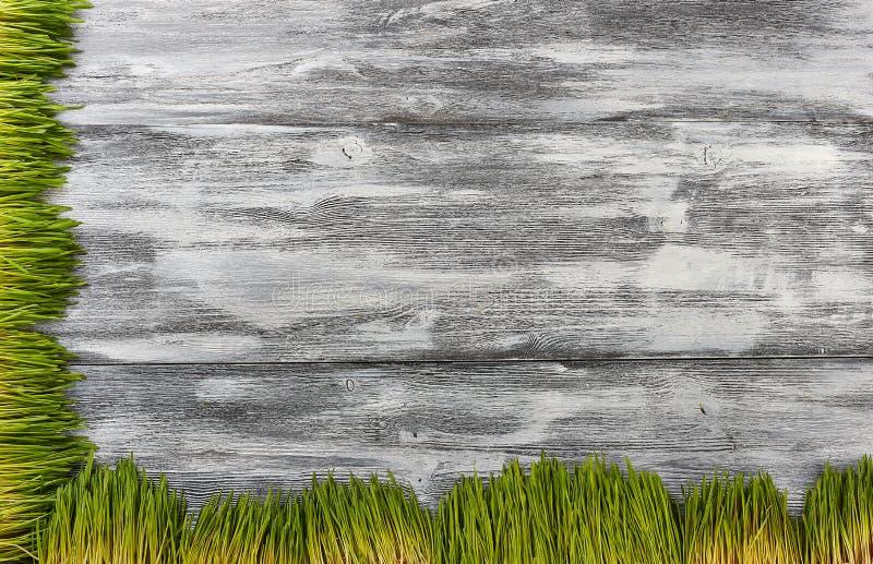 Träbakgrund från gamla bräden som åldras vid tid stock illustrationer