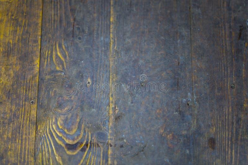 Träbakgrund, mörkt trä royaltyfri fotografi