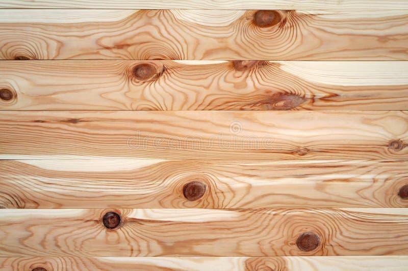 Träbakgrund, planerade bräden royaltyfri fotografi
