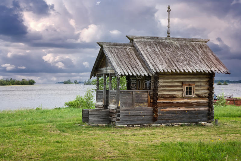 TrächurcheKizhi ö, Karelia arkivfoto