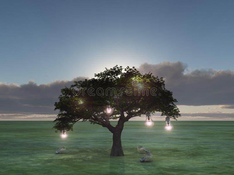 Träd av idéer royaltyfri bild