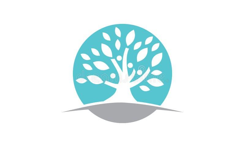 Träd av liv som läker mitten vektor illustrationer