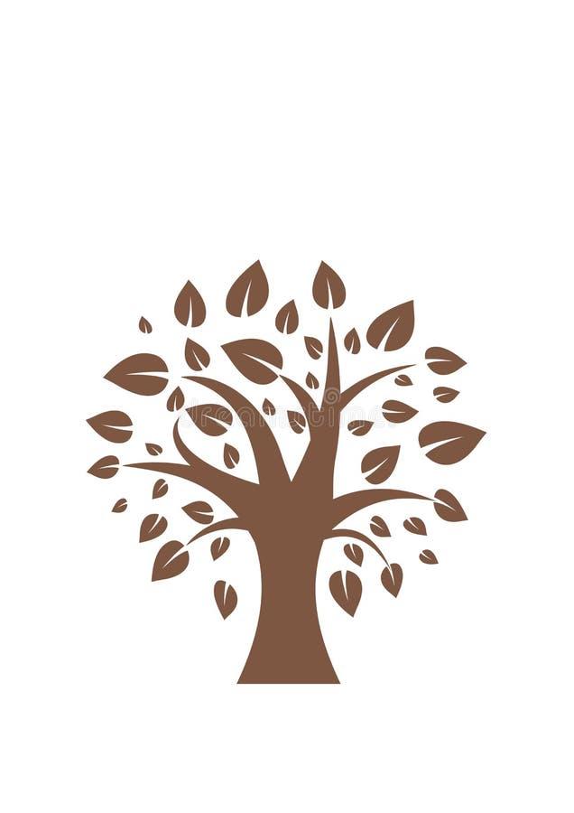Träd trä, vektor, royaltyfri foto