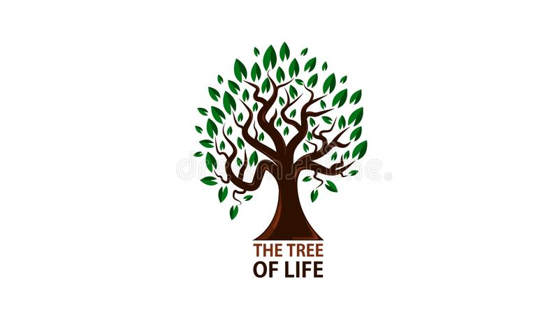 Trädet av liv arkivfoto