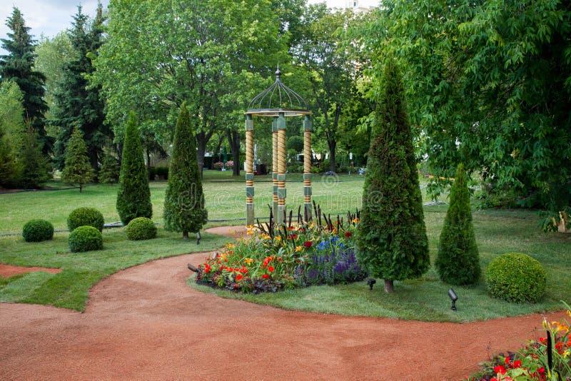 Trädgård av en från deltagare arkivfoton