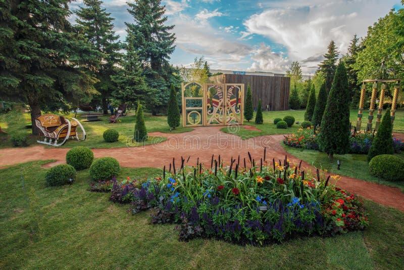 Trädgård av Valeria Fedosova royaltyfri foto