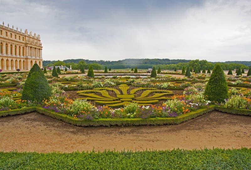 Trädgård av Versailles - Frankrike royaltyfri bild