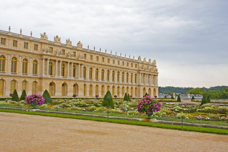 Trädgård av Versailles - Frankrike arkivfoto