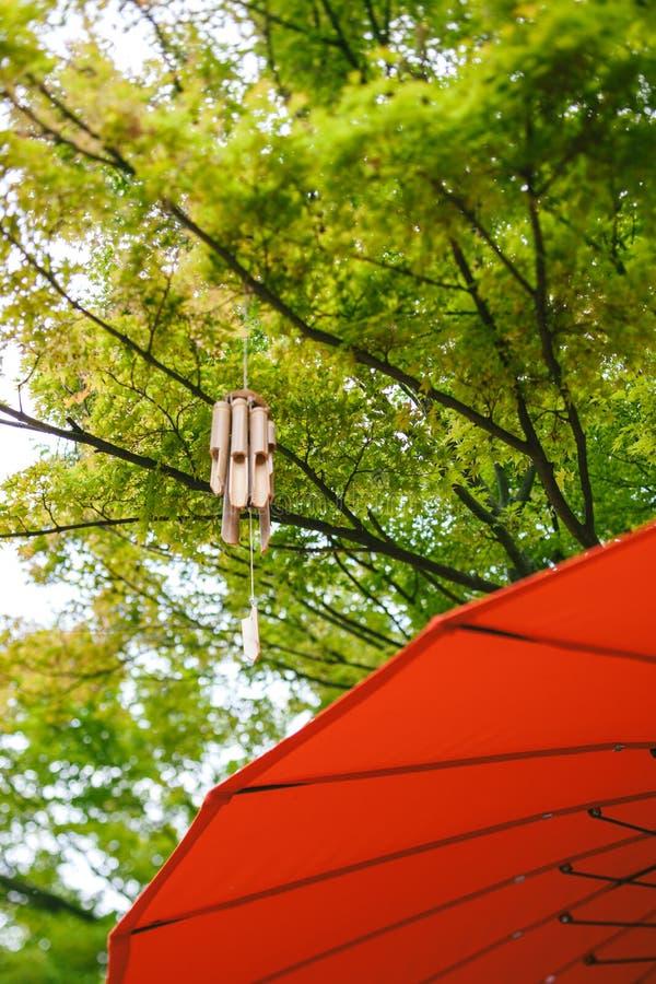 trädgård för Lutande-förskjutning linsjapan fotografering för bildbyråer