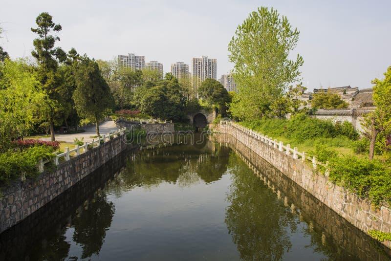 Trädgård för Rugao vattenmålning arkivbilder