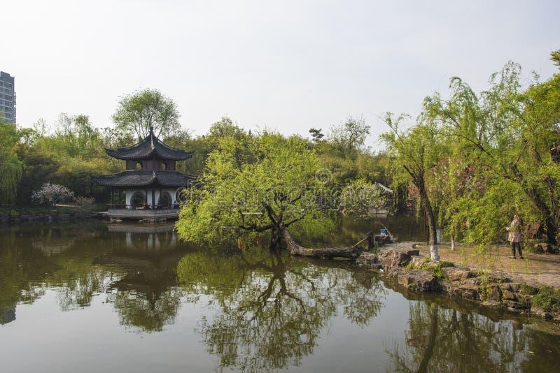 Trädgård för Rugao vattenmålning royaltyfria bilder