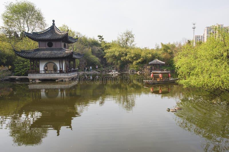 Trädgård för Rugao vattenmålning arkivfoton