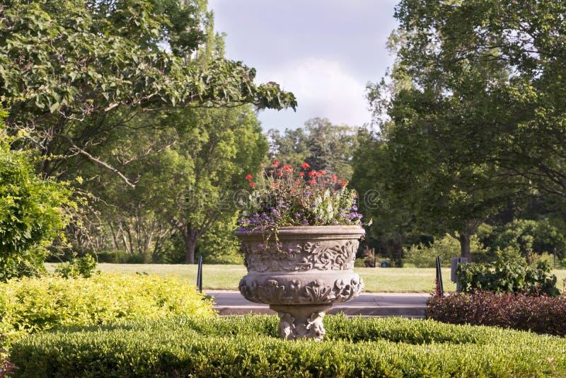 Trädgårdar av Cincinnati royaltyfria bilder