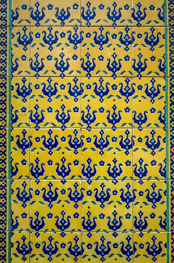 Trädgårdar i Kashan royaltyfri foto