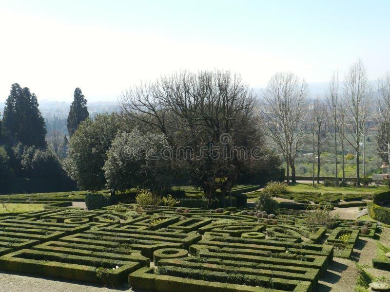 Castello i Italien arkivbilder