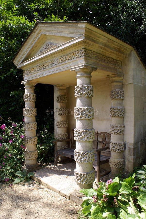 Trädgårds- arkitektur fotografering för bildbyråer