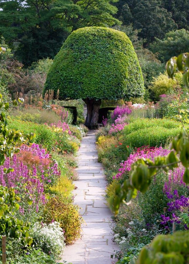 trädgårds- bana