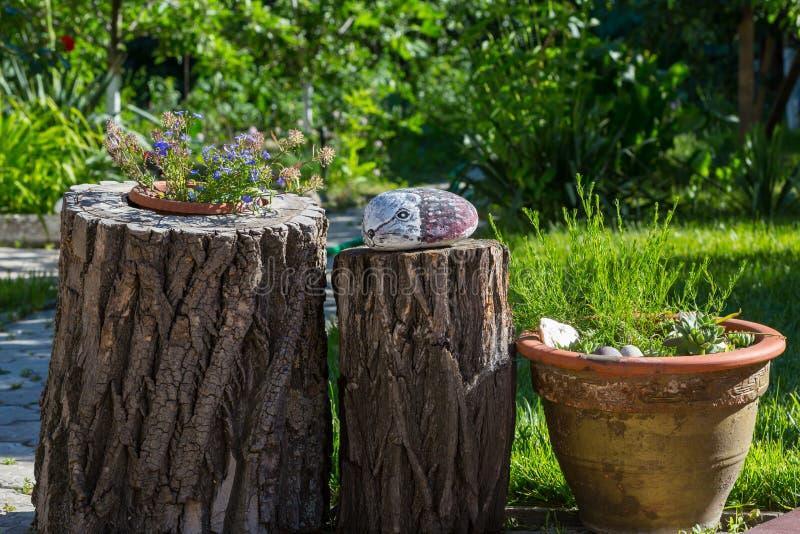 Trädgårds- dekor fotografering för bildbyråer
