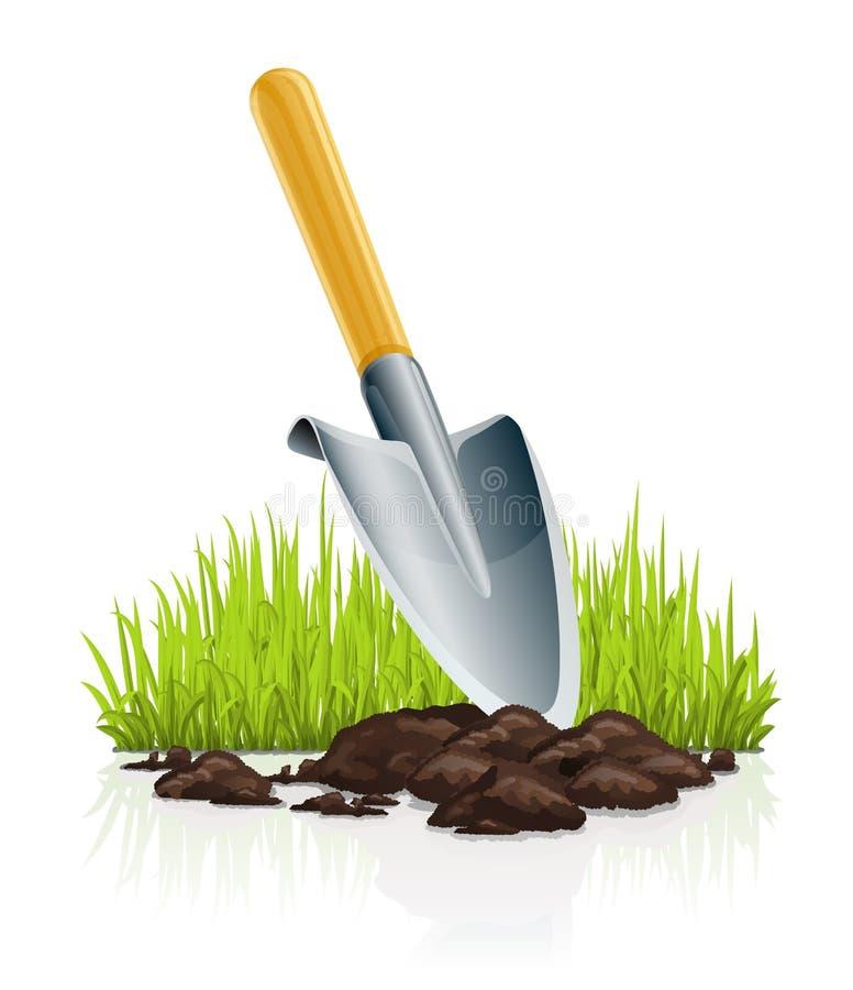 trädgårds- grässkopa stock illustrationer