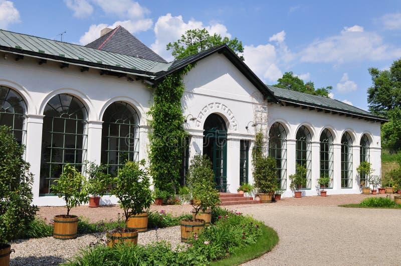 trädgårds- inomhus royaltyfria foton