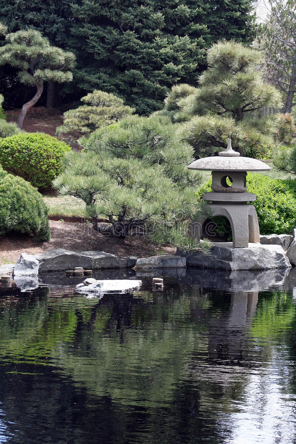 trädgårds- japan arkivbilder