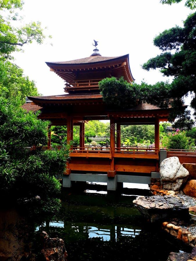 trädgårds- lian nan royaltyfri fotografi