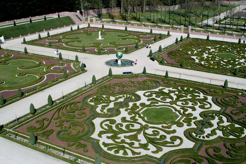 trädgårds- looslott t royaltyfria foton