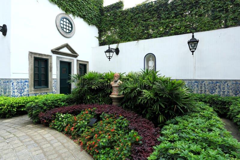trädgårds- macau royaltyfria foton